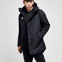 adidas阿迪达斯男子棉服2018新款保暖防风休闲运动服BQ6594