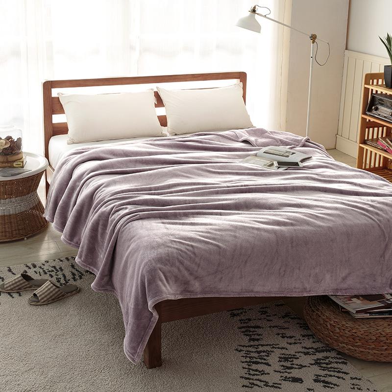 珊瑚绒毯子法兰绒毛毯被子冬季加厚绒毯保暖床单沙发毯盖毯单双人