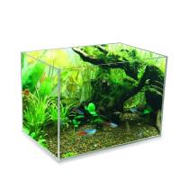 金晶超白鱼缸客厅小型 玻璃鱼缸生态缸草缸办公室水陆造景缸海水 150x50x50 15mm物流