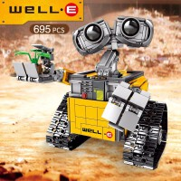 男孩益智拼装积木车布加迪赛车跑车模型8-10岁儿童玩具汽车回力车