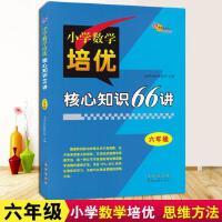 新版 68所名校图书 六年级小学数学培优核心知识66讲知识大全 小学生6年级数学知识大集结上下学期适用核心基础知识专项