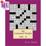 【中商海外直订】100 Crossword Puzzles Vol. 2
