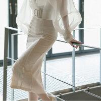 潮牌欧根纱白衬衫女心机上衣设计感小众心机洋气衬衣女仙女范