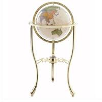 地球仪 博目 复古地球仪 32cm 高清 中英文 办公装饰工艺品