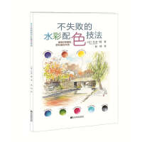 封面有磨痕-HSY-不失败的水彩配色技法 9787538192988 辽宁科学技术出版社 知礼图书专营店
