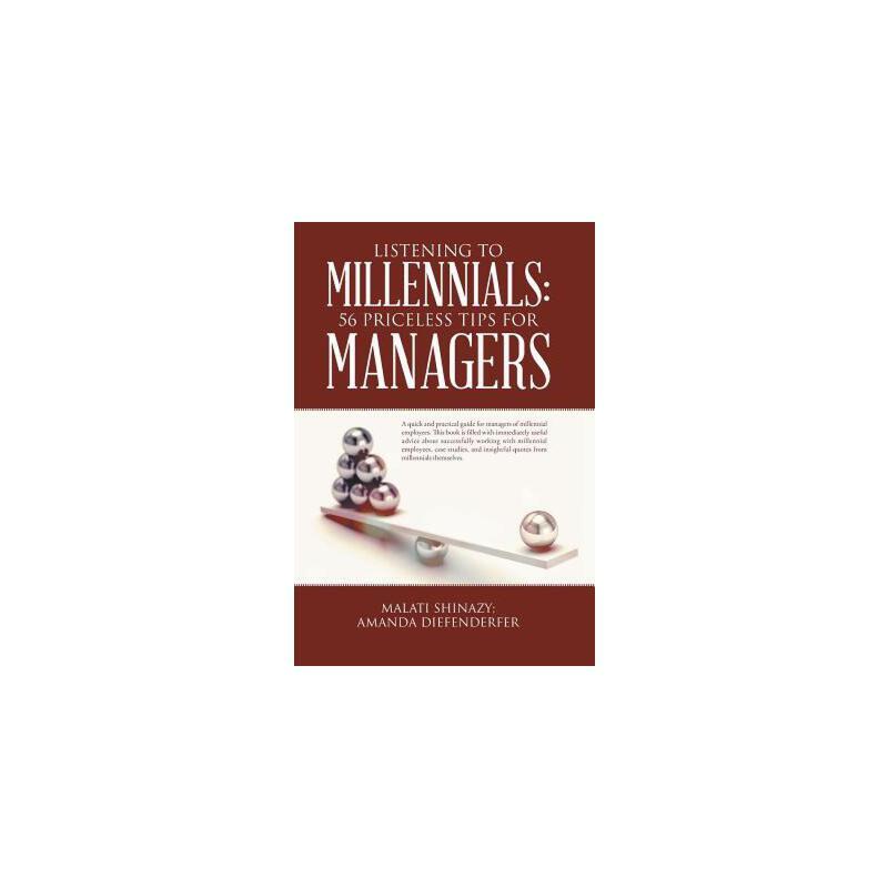 【预订】Listening to Millennials: 56 Priceless Tips for Managers 预订商品,需要1-3个月发货,非质量问题不接受退换货。