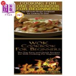 【中商海外直订】Cooking for One Cookbook for Beginners & Wok Cookbo