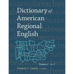 【预订】Dictionary of American Regional English, Volume I: A-C