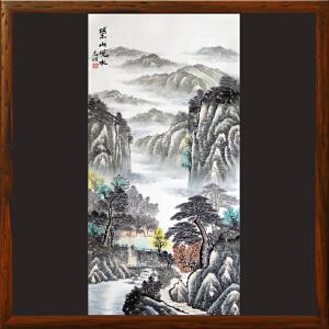 《望山观水图》高忠明 一级美术师R4018