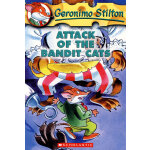 Attack of the Bandit Cats(Geronimo Stilton #08)老鼠记者8ISBN9780439559706