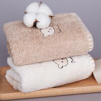 三利 有机棉儿童毛巾2条装 A类加厚毛巾洗脸童巾