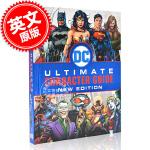 现货 新版DC漫画英雄人物角色指南 英文原版 DC Comics Ultimate Character Guide N