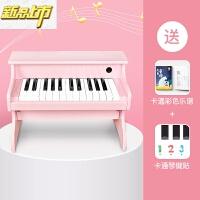 【六一儿童节特惠】 俏娃宝贝儿童木质小钢琴玩具电子琴初学者1-3-6岁宝宝男女