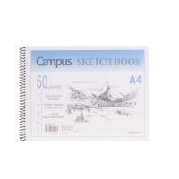 国誉(KOKUYO)PS2051 A4/50页 颜色随机 螺旋PP面图画本 学生绘画本当当自营