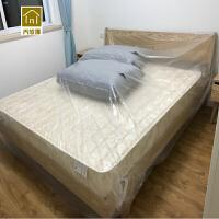 家用装修防尘塑料布 一次性床罩防尘布遮盖家用防尘装修防油漆沙发罩塑料膜Q