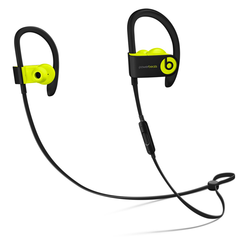 Beats Powerbeats3 by Dr. Dre Wireless 入耳式耳机 荧光黄 MNN02PA/A