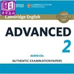 【中商原版】剑桥CAE考试2 真题集:CD音频 英文原版 Cambridge English Advanced 2 A
