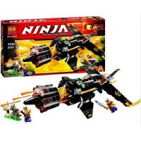 欢乐童年 兼容乐高式高Ninjago幻影忍者70747忍者8连发战斗机拼装积木玩具10322