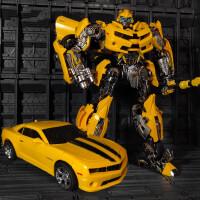 变形玩具金刚合金版大黄蜂机器人MPM03超大战锤模型定制 大黄蜂MPM03【28厘米现货】