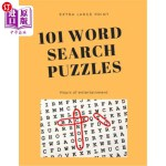 【中商海外直订】101 Word Search Puzzles: Extra Large Print