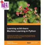 【中商海外直订】Learning Scikit-Learn: Machine Learning in Python