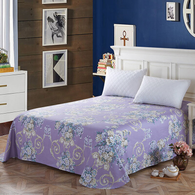 当当优品 纯棉斜纹床上用品 床单200*230cm 芬妮当当自营 100%纯棉 吸汗透气 可贴身裸睡 0甲醛