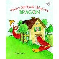 英文原版 世界上没有龙 经典绘本 There's No Such Thing as a Dragon