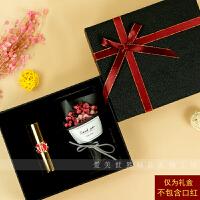 母亲节精美玫瑰花礼盒装口红包装礼品生日礼物套盒子网红简约ins风情人节 17*15*5cm