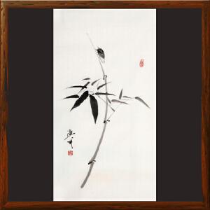 《蝉-一鸣惊人》于洪顺 实力派画师R4038