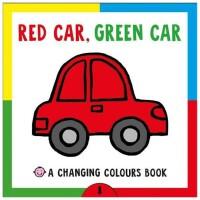 Red Car Green Car 红汽车绿汽车 英文原版儿童变色书
