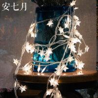 led星星装饰灯房间彩灯闪灯串灯满天星寝室新年过年装饰挂件宿舍