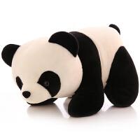 熊仔公仔 毛绒玩具大抱抱熊玩偶可爱*布娃娃儿童生日新年礼物 黑白色