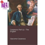 【中商海外直订】Casanova: Part 23 - The English