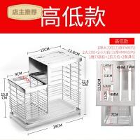 家用刀架刀座插放菜刀具置物架子304不锈钢收纳架厨房用品家用多功能SN5968