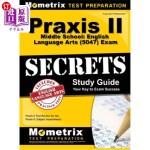 【中商海外直订】Praxis II Middle School English Language Arts (5047