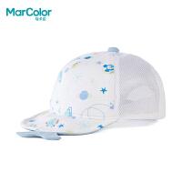 【清仓价:20】巴拉巴拉旗下马卡乐2019年夏新品男童婴儿帽星空图案帽子舒适透气