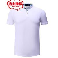 纯色短袖翻领男女式polo衫定做夏季t恤印字文化衫工作服批发