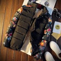 秋冬男士运动棉衣服潮男加棉加厚棒球服韩版修身保暖面包服厚外套
