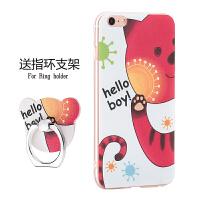 苹果5s手机壳iphone5s套女款硅胶防摔可爱卡通萌se全包5软个性i