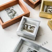 铝合金实木流行金银色创意相框摆台像架