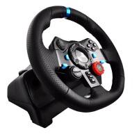 Logitech/罗技 G29游戏方向盘 仿真飞车PS3/4赛车900度模拟驾驶 全新盒装正品行货