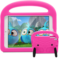 iPad6/Air2手提防摔硅胶套 苹果A1566皮套 9.7英寸卡通麻雀保护套
