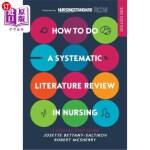 【中商海外直订】How to Do a Systematic Literature Review in Nursing