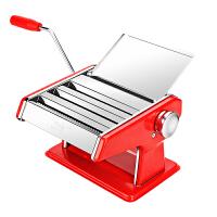面条机家用全自动小型多功能手动压面机不锈钢手工做饺子擀面
