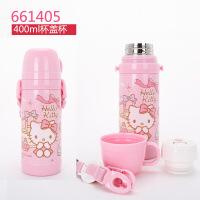 双层304不锈钢保温杯儿童小学生女童女生水壶大容量吸管杯