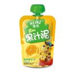 【当当自营】亨氏 Heinz果汁泥乐维滋-苹果香橙(1-3岁)120g/袋 宝宝辅食(团购电话:010-57992568)