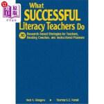 【中商海外直订】What Successful Literacy Teachers Do: 70 Research-B