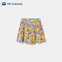 【99元任�x3件:33元】迷你巴拉巴拉�和�短�2020夏季新款全棉女童�子印花水果可�鄱萄�