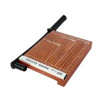 Deli/得力裁纸刀8006切纸刀 切纸刀 裁纸刀 木质裁纸机 200*180mm