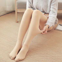 春秋冬季光腿打底裤加厚加绒外穿显瘦女外穿女士裤子一体裤袜
